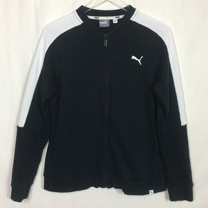Puma Jacket Black and White